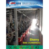China PVC artificial marble profile making machine extrusion line artificial marble profile production line on sale