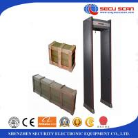 Best 12/18 Zones airport security machines , commercial Door Frame Metal Detector walk Through CE and ISO wholesale