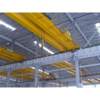 China Double girder warehouse overhead crane with weight scale on sale