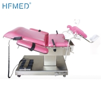 China SS304 Obstetrics Gynecological Hydraulic Examination Bed on sale
