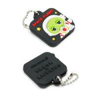 China Personalized Promotional Gifts For Clients 3D Soft PVC Rubber Keychain on sale