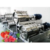China Hygiene SUS 304 1500T/Day Berry Processing Equipment on sale