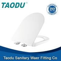 China Barbed wire toilet seat european urea toilet seat with soft colose hinge on sale