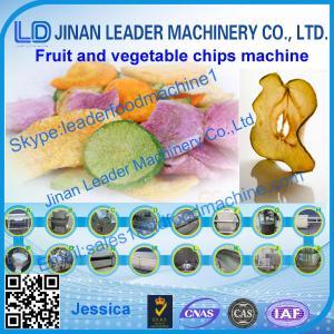 Best Colza oil Vegetable chips process line wholesale