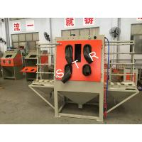 China Dustless Glass Bead Blasting Equipment Industrial Cabinet Surface Preparation on sale
