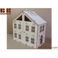 China wooden doll houses toys to build  wooden dollhouse for kids  6*8,12*16, 25*30 cm on sale