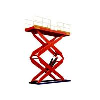 Buy cheap 900 / 2000 / 4000 kg Electric Fork Fixed Hydraulic Lifting Platform product