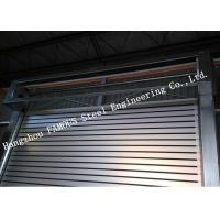 Indoors PVC Fast Rapid Rise Door And Outdoors Hard Metal High Speed Rolling