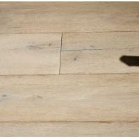 China Antique Oak Engineered Hardwood Flooring, wide plank with white stained on sale