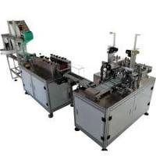Best PLC Program Control Mask Making Machine For Disposable Flat Masks wholesale