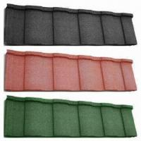 Best Stone-coated Metal Roof Tiles in Various Colors and Styles, Light and Strong, 30 Years Warranty wholesale