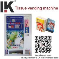 China LK-A1401 2015 Popular tissue vending machine for sale on sale