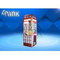 China Attractive Claw Crane Game Machine / Crane Toy Vending Machine on sale