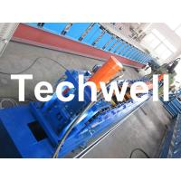 Best Rolling Shutter Door Track Roll Forming Machine With 16 Forming Station TW-DTM45 wholesale