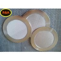 China 5 Layers Sintered Steel Filter , Sintered Metal Disc Easy clean on sale