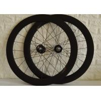 Best T700 High Strength Carbon Track Wheelset With Bladed Spokes Long Service Life wholesale