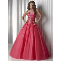Best Gorgeous Watermelon Quinceanera Party Dresses Strapless And Organza wholesale