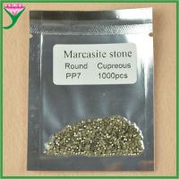 Best hot sell AAA pp7 round cut loose marcasite stones wholesale price wholesale