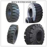 China Forklift Solid Tires Solid Tyre Solid OTR Llantas 500-8 600-9 650-10 700-12 1000-20 on sale