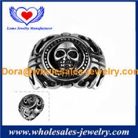 China Wholesales fashion luxury jewelry for Men Special Design Titanium Steel Maya Jewelry Ring. on sale