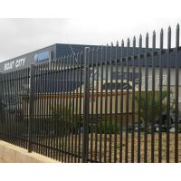 China Tubular Steel Fencing panels  Rnamental Spear Top Security Steel Tubular Fence on sale
