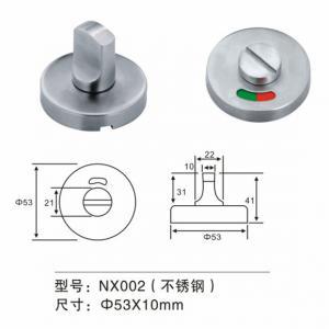 Cheap Stainless Steel Thumb Turn Door Knob Door Fitting Hardware For Washroom Door for sale