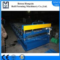 Best Aluminum Roofing Sheet Making Machine , Hydraulic Pump Roof Forming Machine wholesale