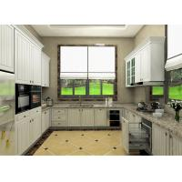 Best Moisture Proof Board Pvc Kitchen Cabinets With Visible Handle 8 Years Guarantee wholesale