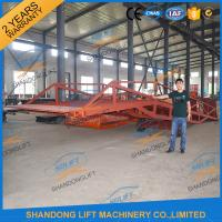 China 8T Container Loading Ramps / Industrial Loading Ramps 0.9m - 1.8m Lifting height on sale