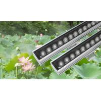 Buy cheap Project IP65 waterproof 36W led wall washer light, RGBW color DMX512 controller from wholesalers