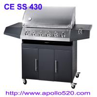 Outdoor BBQ Gas Grill, 6burner