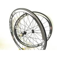 Buy cheap Super Light V Brake Carbon Road Race Wheels 38mm 45mm Clincher Tubular from wholesalers