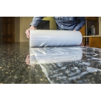 China Artificial Marble 50mic Self Adhesive Protection Film Multi Surface Floor Coverings on sale