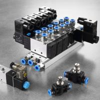 Best 2 Position Air Actuated Solenoid Valve , Plate Type Double Acting Solenoid Valve wholesale
