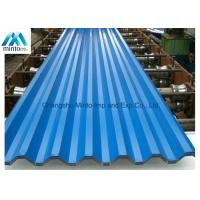Best Lightweight Coloured Corrugated Roofing Sheets DX51D JIS ASTM GB DIN 0.13mm - 6.0mm wholesale