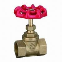 China Brass Gate Valve with Aluminum Handle, OEM Orders are Welcome on sale