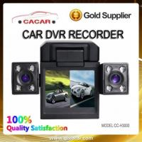 China 2012 Hot Dual Camera Car Recorder With Ir Night Vision on sale