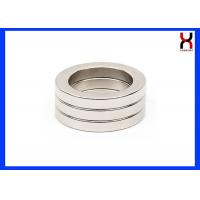 Best Permanent Neodymium Ring Shaped Magnet Donut MagnetsWith Straight Hole / Countersunk Screw wholesale