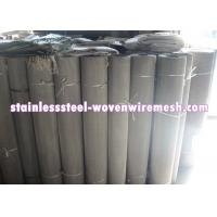 China Mesh 7 - 500 Stainless Steel Filter Screen , Customized Stainless Steel Mesh In Roll on sale