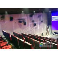 Best Immersive 4D Cinema Equipment With Electric System And Customized Seats Number wholesale