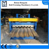 Best Galvanized Plate Cold Roll Forming Machine For Container Panel ISO Approval wholesale