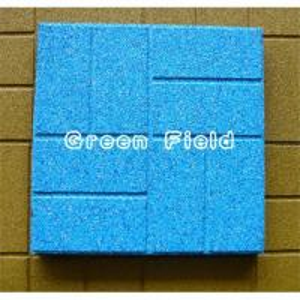China 400*400 epdm rubber flooring tile on sale
