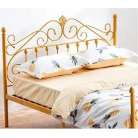 Best Wrought Iron Metal Double Bed Queen Sizes 0.6-1.5mm Thick Steel Pipe wholesale