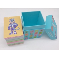 Best 64x89mm Size Family Game Chinese Flashcards Printable 1mm Cardboard wholesale