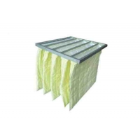 Best Customized Pocket Air Filter / Bag Air Filter F7-F9 Efficiency For Air Conditioning wholesale