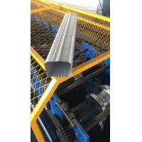 China Square Rain Tube Roll Forming Machine For House Roof , 15 Kw Gutter Maker on sale