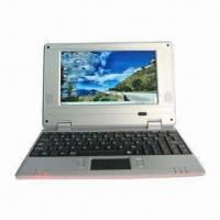 Best 7-inch Netbook, Ideal for Student, Microsoft's Windows CE/Android 4.0 OS and Wi-Fi 802.11 wholesale