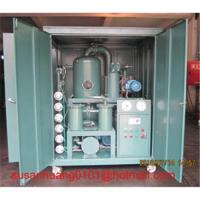 China Transformer oil Filtration and dehydration plant (oil purifier and oil treatment) on sale