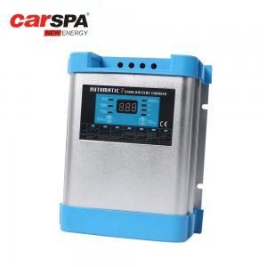 China Safe Automotive Battery Charger , 40A 50A 12v Gel Battery Charger LED Indicators on sale