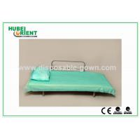 Best Blue Disposable Non Woven Bed Sheets for Hospital Clinic Beauty Center Use wholesale